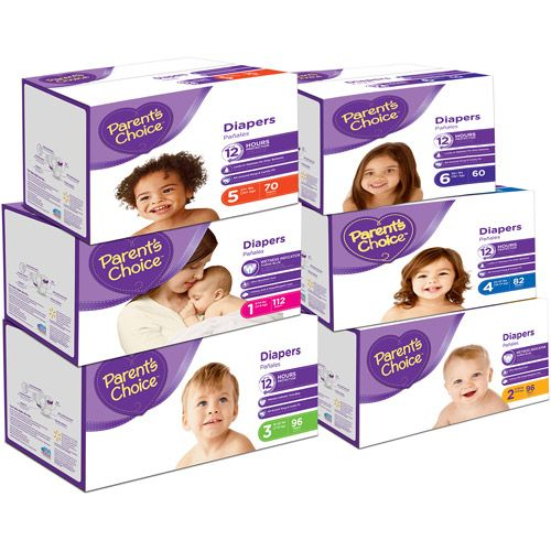 Walmart: Parent\'s Choice Jumbo Pack Diapers Only $4.47!