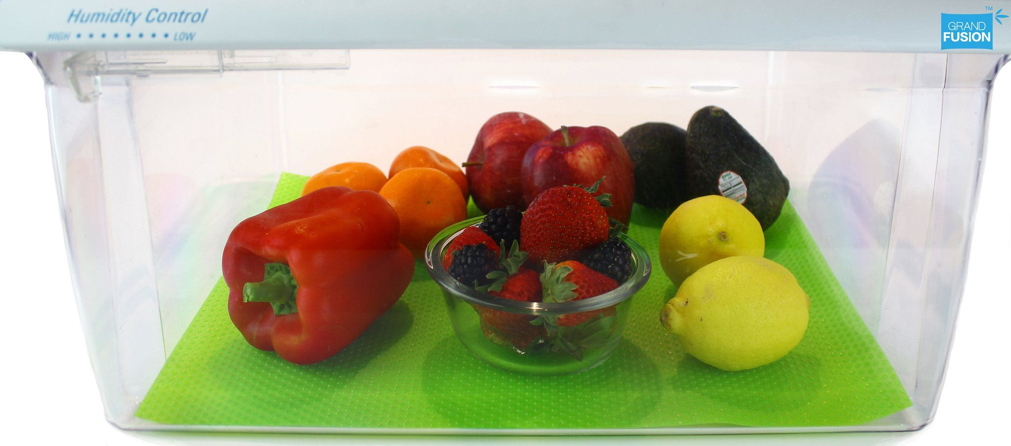 Fruit Fresh® Refrigerator Crisper Drawer Liner 2 pk Safe
