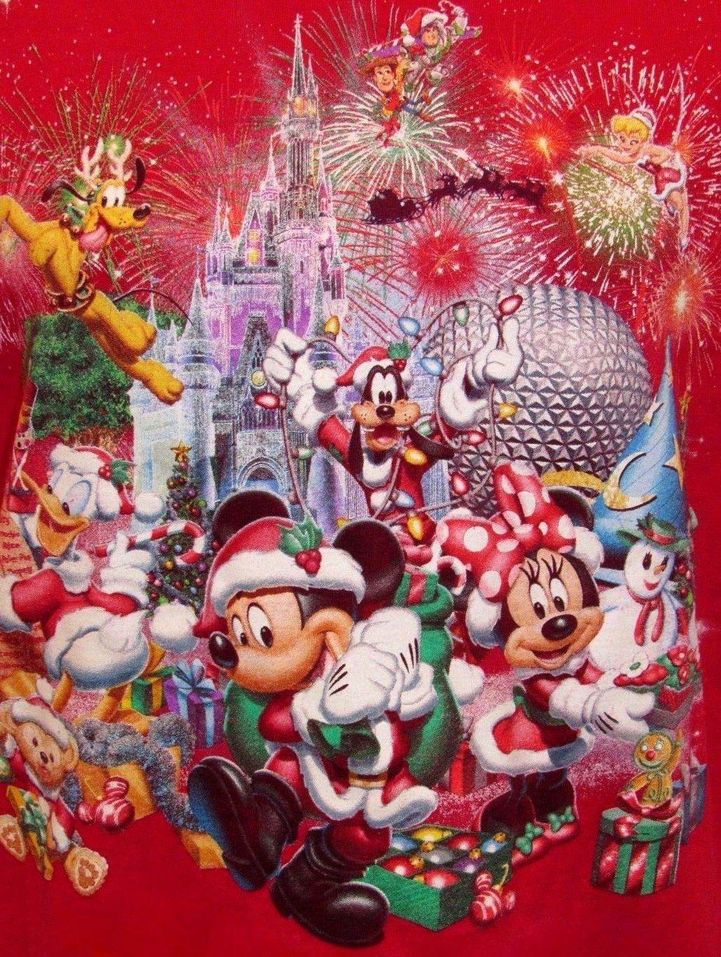 Happy Holidays Mickey Christmas Disney Merry Christmas Disney