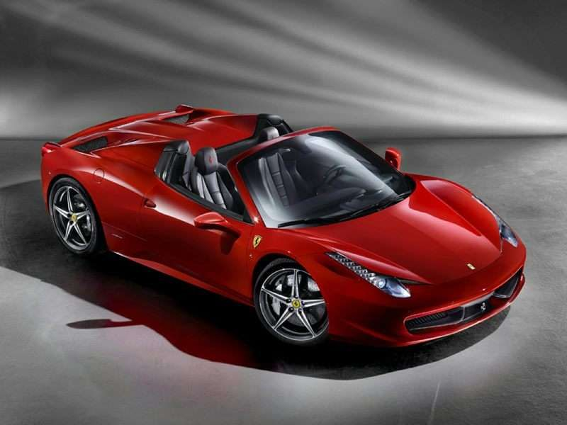2014 Ferrari 458 Spider Fast Sports Cars Expensive Sports Cars Ferrari 458