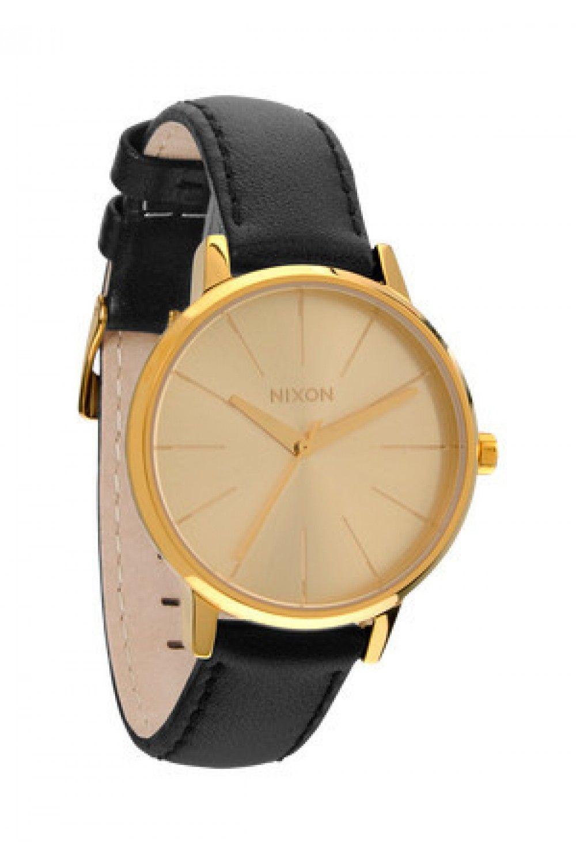 Nixon Kensington Leather - Gold