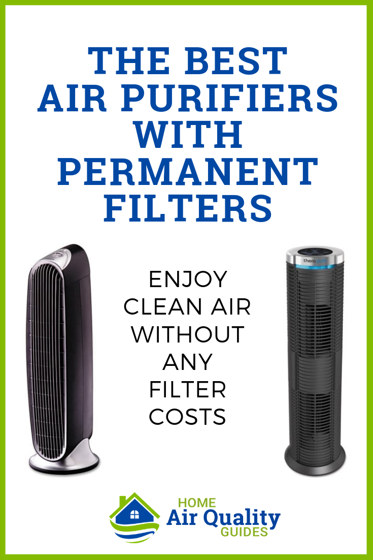 Best Air Purifiers with Permanent and Washable HEPA