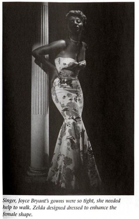 Celebrating Black Designers Zelda Wynn Valdes African American Fashion Black Fashion Designers Vintage Black Glamour