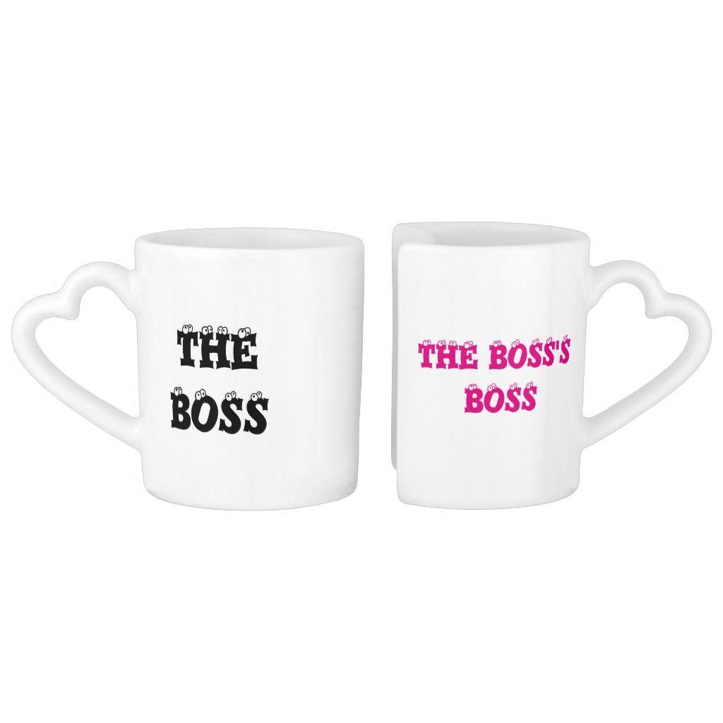 The Boss & the Boss's Boss - Coffee Mug Set | Zazzle.com