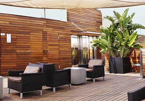decoración terrazas sin plantas jardinera Pinterest Terrazas - decoracion de terrazas con plantas
