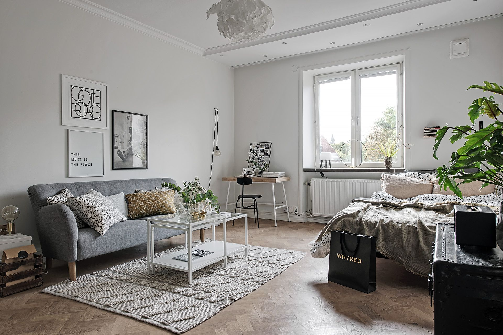Swedish Studio Apartment In Muted Colours
