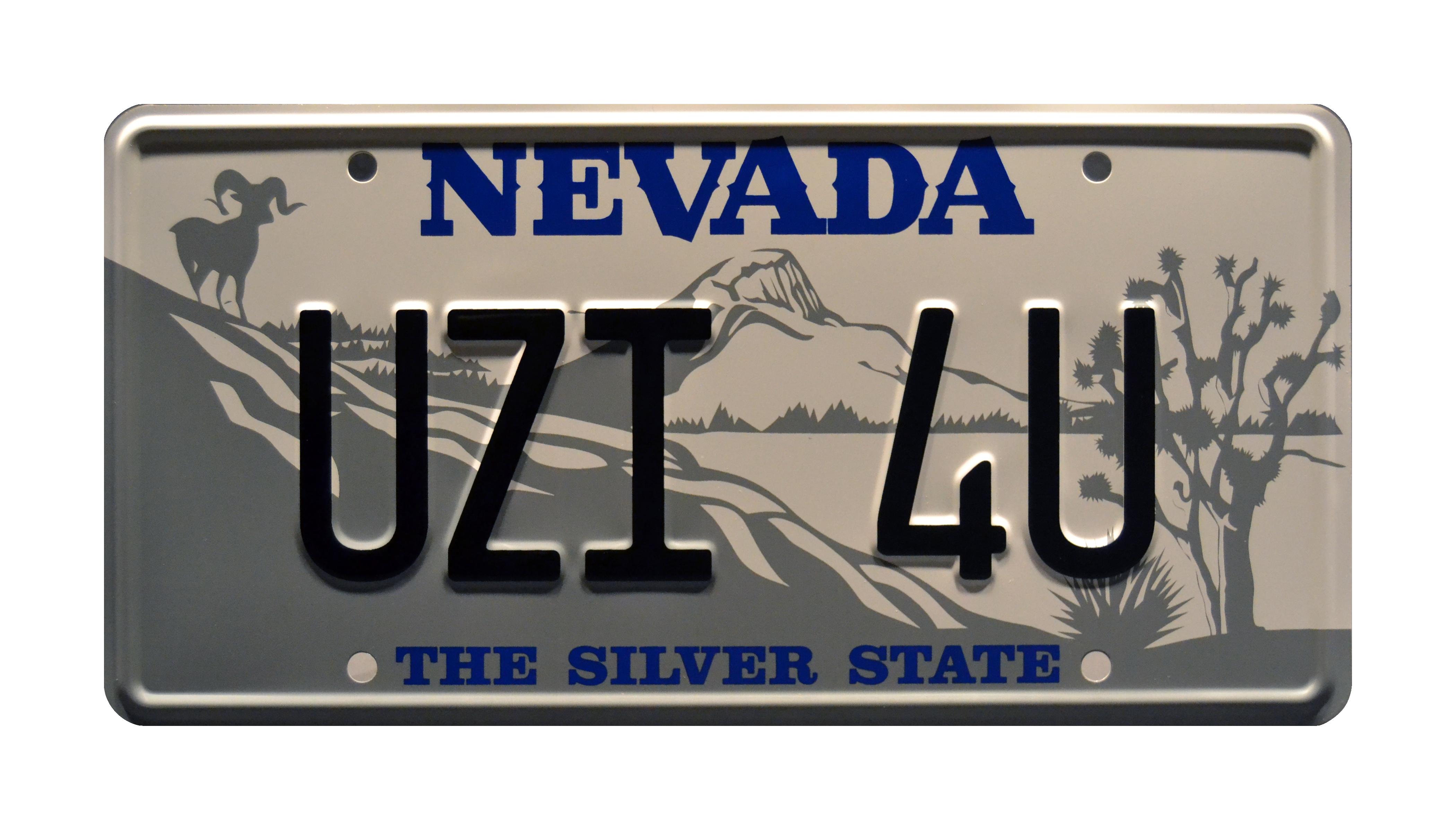 Tremors Burt Gummer S Gmc Jimmy License Plate Replica Prop