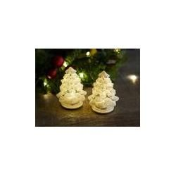 Led-christbaum, 2er-Set Cilja Tree, Designer Sirius, 8 cm Sirius – Boda fotos