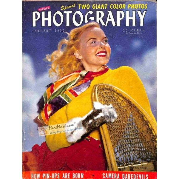 Cover Print Of Popular Photography, January 1950