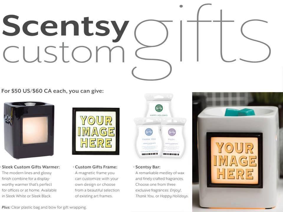 Sleek Black Scentsy Custom Gifts Warmer | Dealssite.co