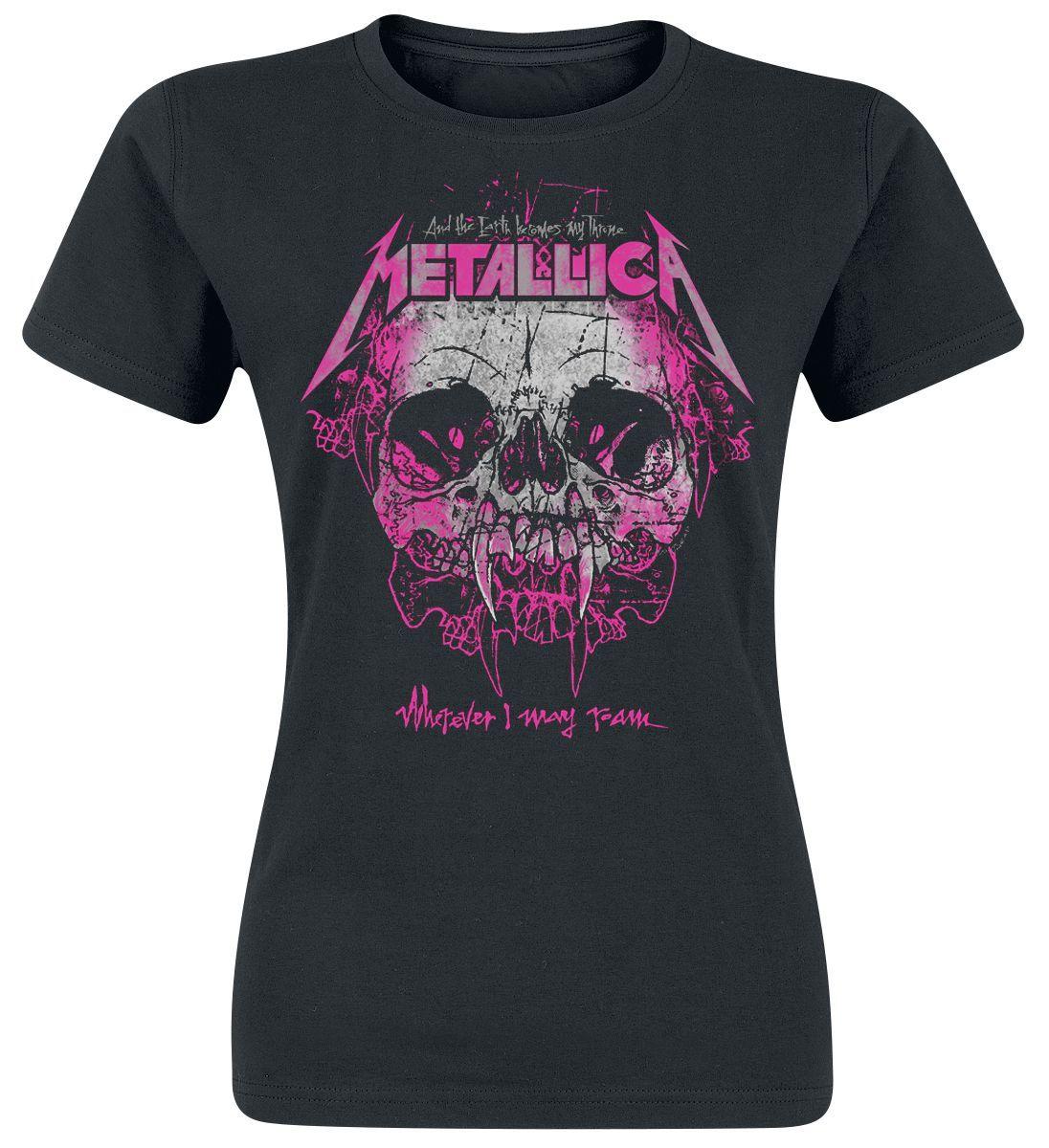 Sexy metallica t-shirts for girls