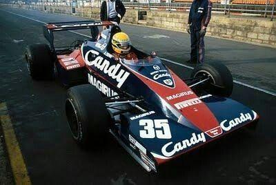 Toleman 1983 test
