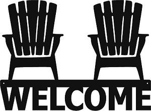 Image result for adirondack chair icon | Beach house signs ...