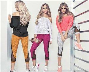 ya estan disponible tanto las blusas malla como los pantalones capri en nuestra tienda online