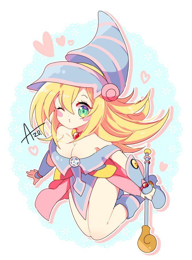 Dark magician girl just yugioh - Dark anime girl pics ...