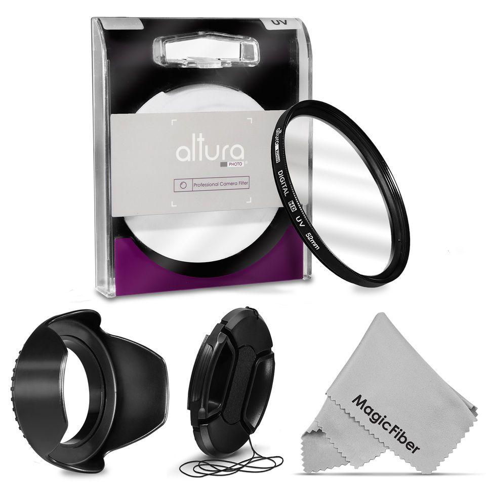 52mm Uv Filter Lens Hood Cap Kit Nikon D7100 D5500 D5200 D5100 D3300 D3200 Dslr Camera Cleaning Kit Ebay