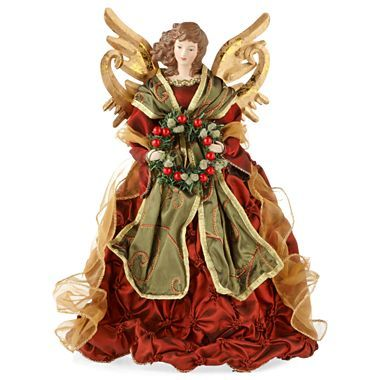 Traditional Christmas Angel Tree Topper - jcpenney Angeles