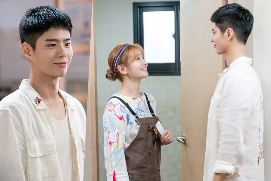 """Park Bo Gum And Park So Dam Are All Smiles As They Enjoy Each Other's Company In """"Record Of Youth"""""""