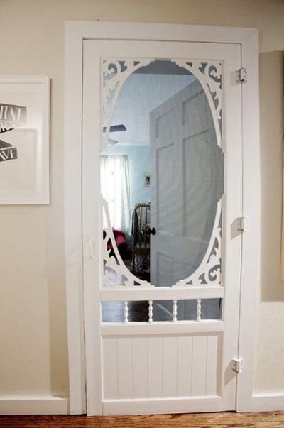 Screen Doors To Keep Pets Out Of Baby S Room And Allow You Hear If They Re Fussy