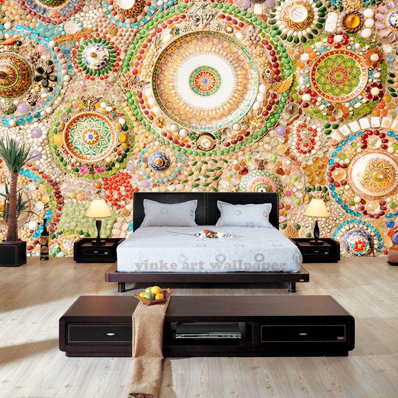 Goedkope Moderne muurschilderingen 3D foto behang voor woonkamer ...