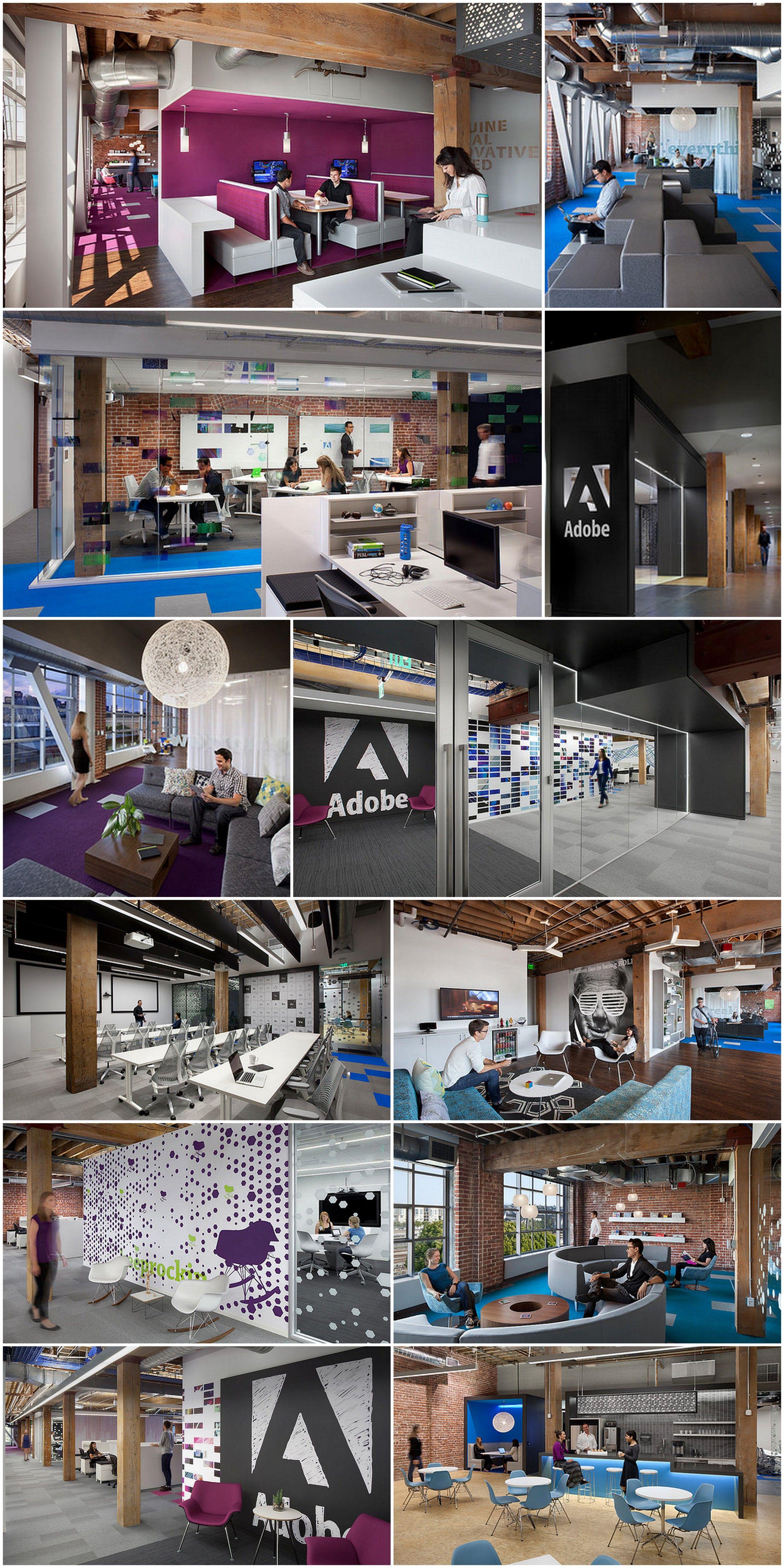 Adobe new office at San Francisco | #creative #office #design ...