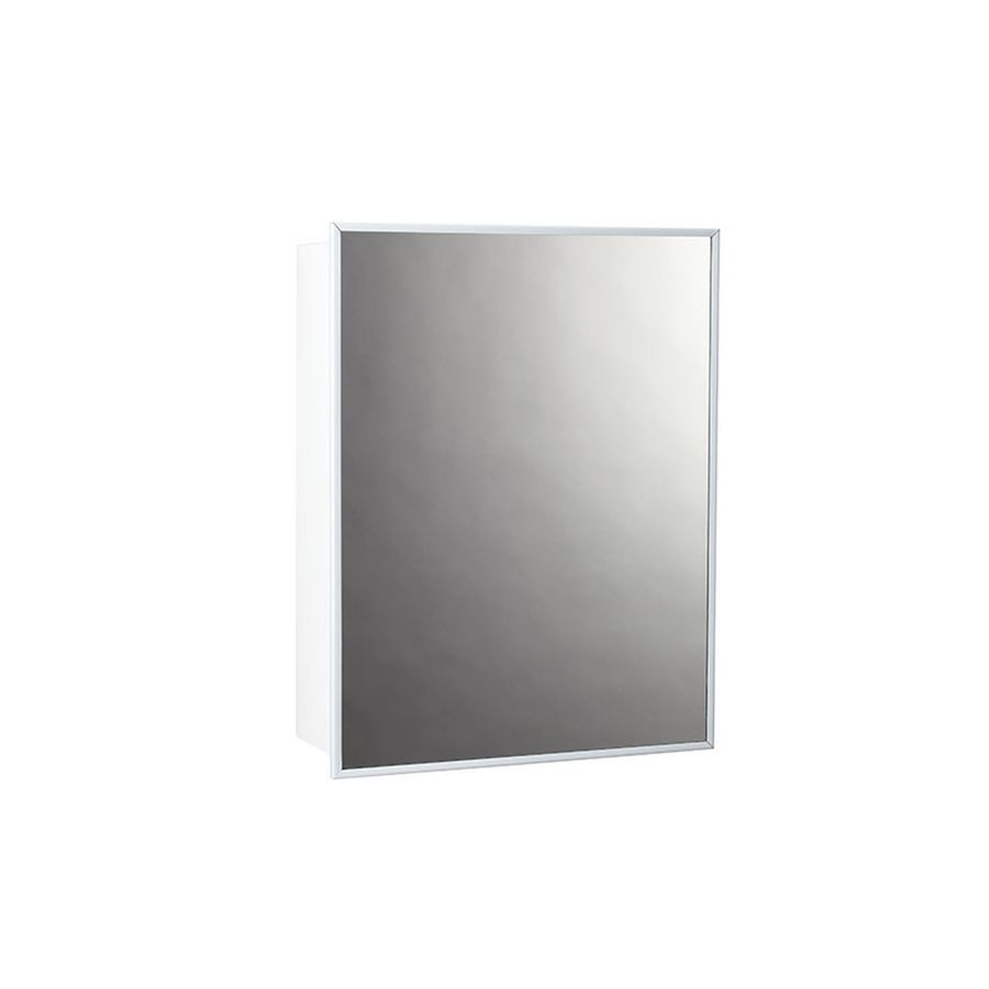 Jensen Topsider 14 In X 18 In Surface Stainless Steel Mirrored Rectangle Medicine Cabinet Lowes Com In 2021 Medicine Cabinet Mirror Rectangle Mirror Steel Shelf