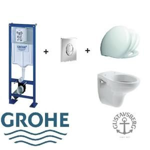 pack wc suspendu complet bati grohe sl plaque ch toilettes en 2018 pinterest toilette. Black Bedroom Furniture Sets. Home Design Ideas