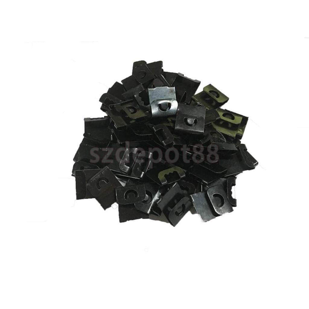 50Pcs/Lot Metal Frame For Photo Mirror Turn Button Hanger Hanging ...
