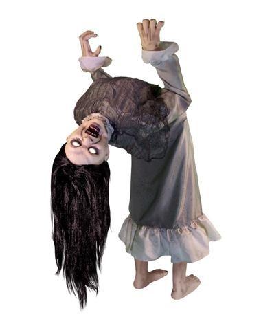 Broken Spine Girl Animated Decoration Evil Pins Pinterest