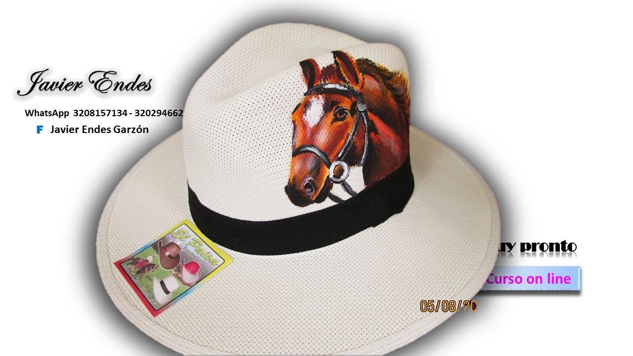 Sombreros Pintados A Mano Javier Endes Sombreros Pintados A Mano Sombreros Y Gorras Moldes De Sombrero