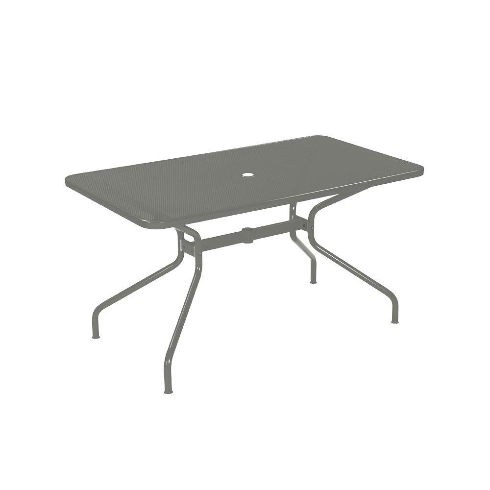 Gartentisch Von Emu Esstisch Aus Stahl Www Milanari Com Gartentisch Eisentisch Design Tisch