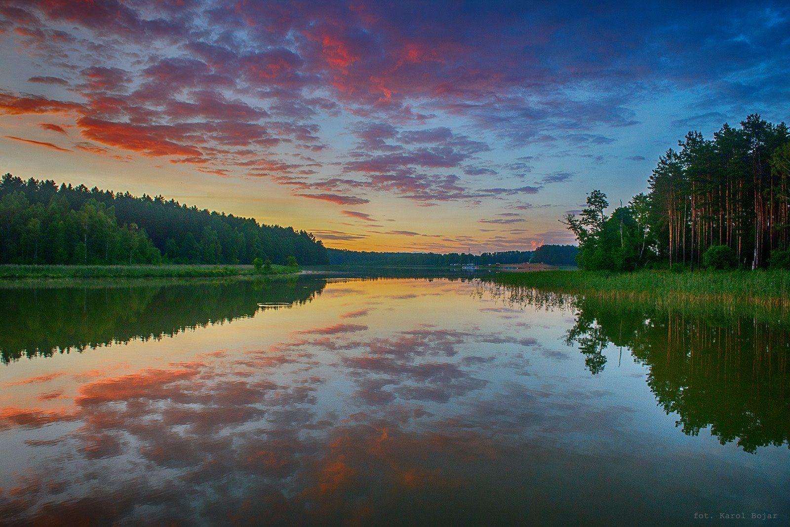 Karol Bojar Cisza Na J Nidzkim W Drodze Do Jaskowa Natural Landmarks Nature Free Time