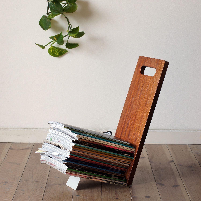 Portable magazine rack. | Interesting Things | Pinterest | Magazines ...