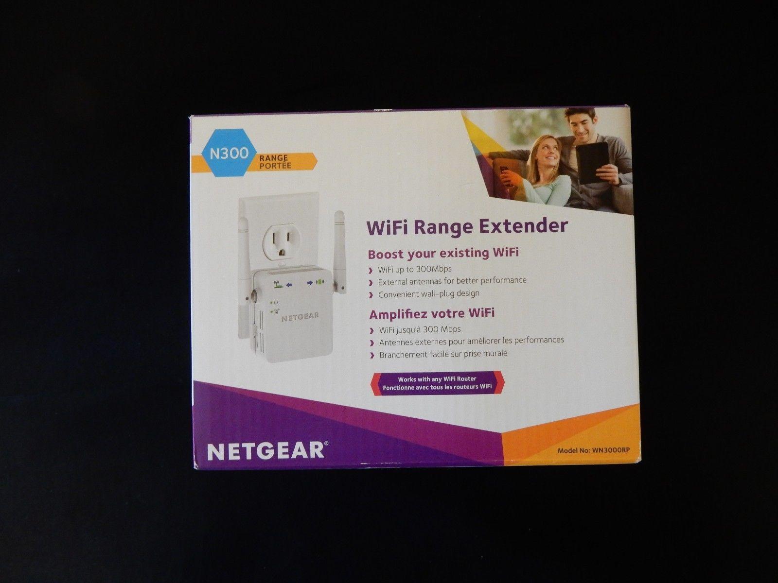 amazing Netgear WN3000RP WiFi Range Extender | Consumer