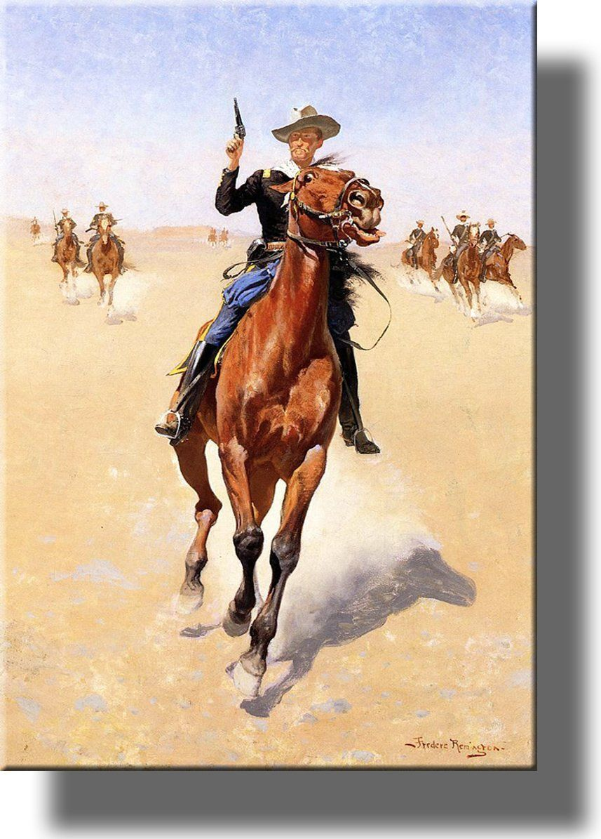 The Cowboy Trooper Picture on Acrylic , Wall Art Décor, Ready to ...