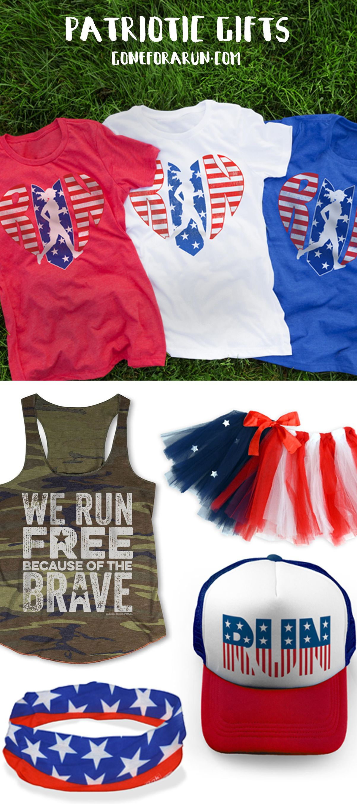 Get Running In Red White And Blue Our Patriotic Running