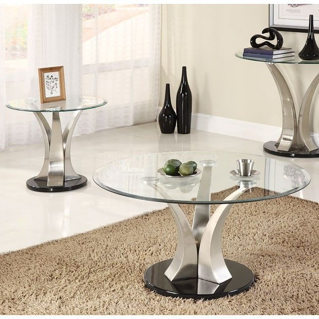 Charlaine Occasional Table Set Coffee Table Coffee Table With Stools Coffee Table Setting