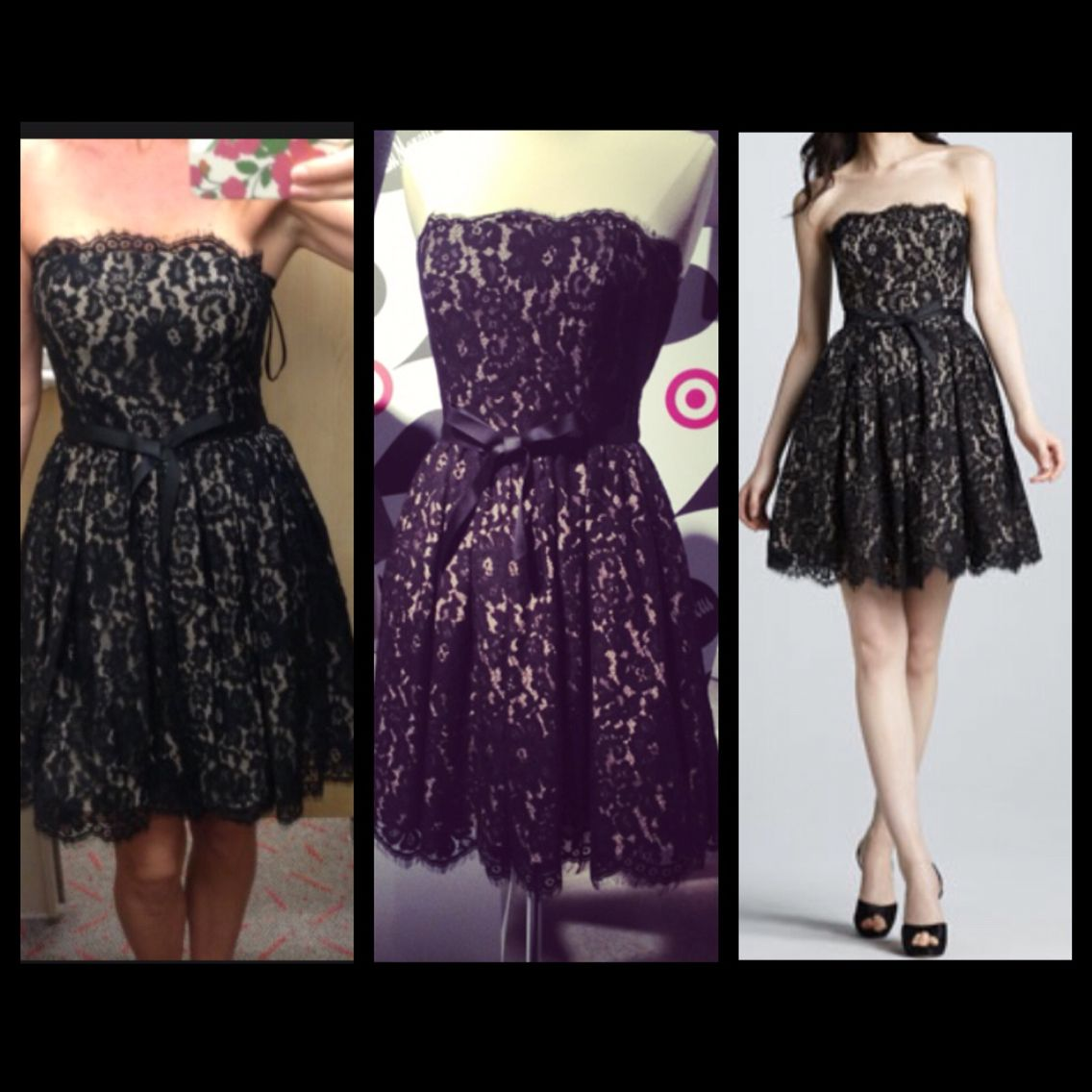 Black dress neiman marcus - Robert Rodriguez Neiman Marcus Target Fit And Flare Lace Dress This Dress Is Black And
