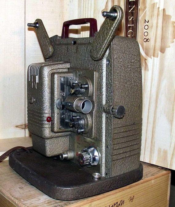 Keystone K 100 8mm Film Movie Projector by