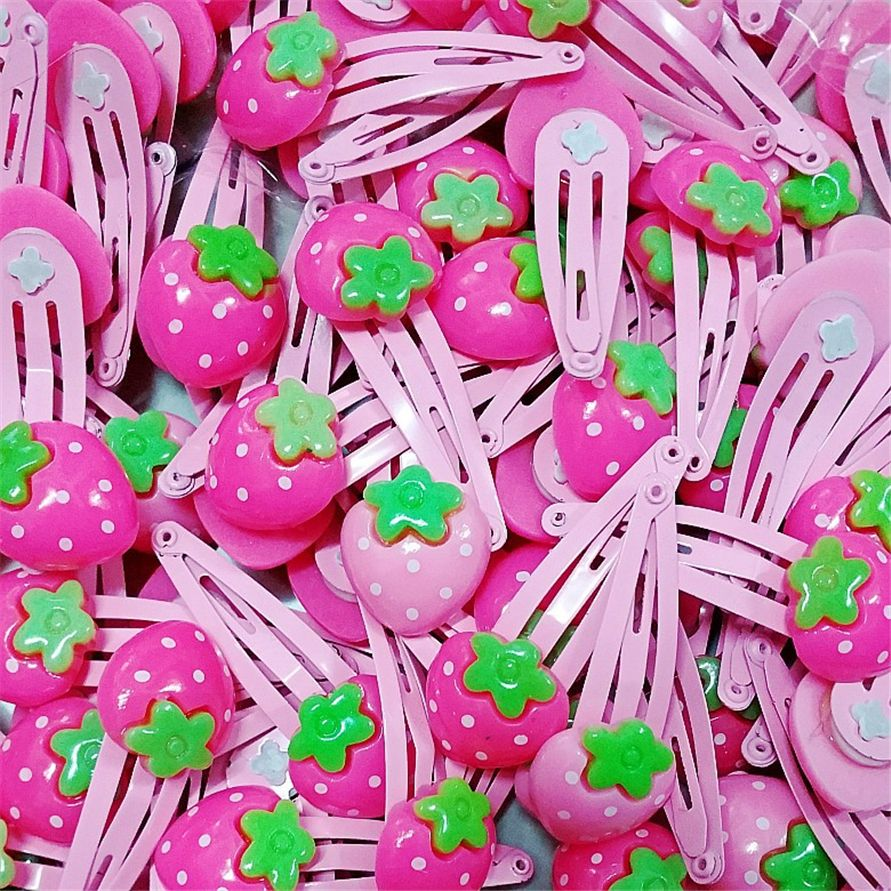 Baby hair clips cute flowers factory supply solid cartoon
