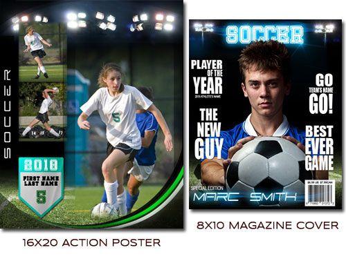 Arc4studio Soccer Premier Photoshop Templates Soccertemplates Soccer Sports Photograph Soccer Poster