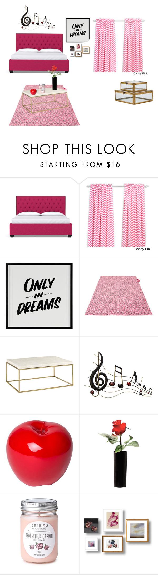 """dream bedroom"" by jayden5409 ❤ liked on Polyvore featuring interior, interiors, interior design, home, home decor, interior decorating, Baron Von Fancy, Fatboy, Benzara and Bitossi"