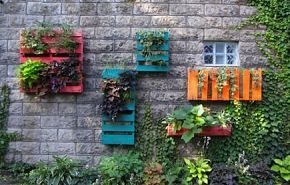 Cool use for pallets.