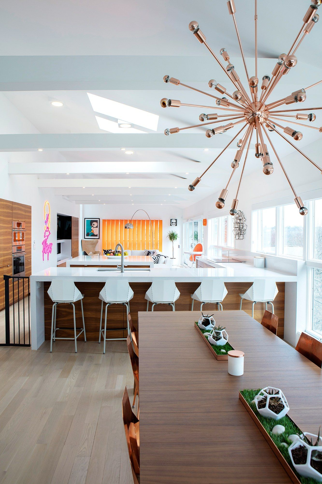 Designed for Living: Inside Coco Rocha\'s Recently Remodeled Modern ...
