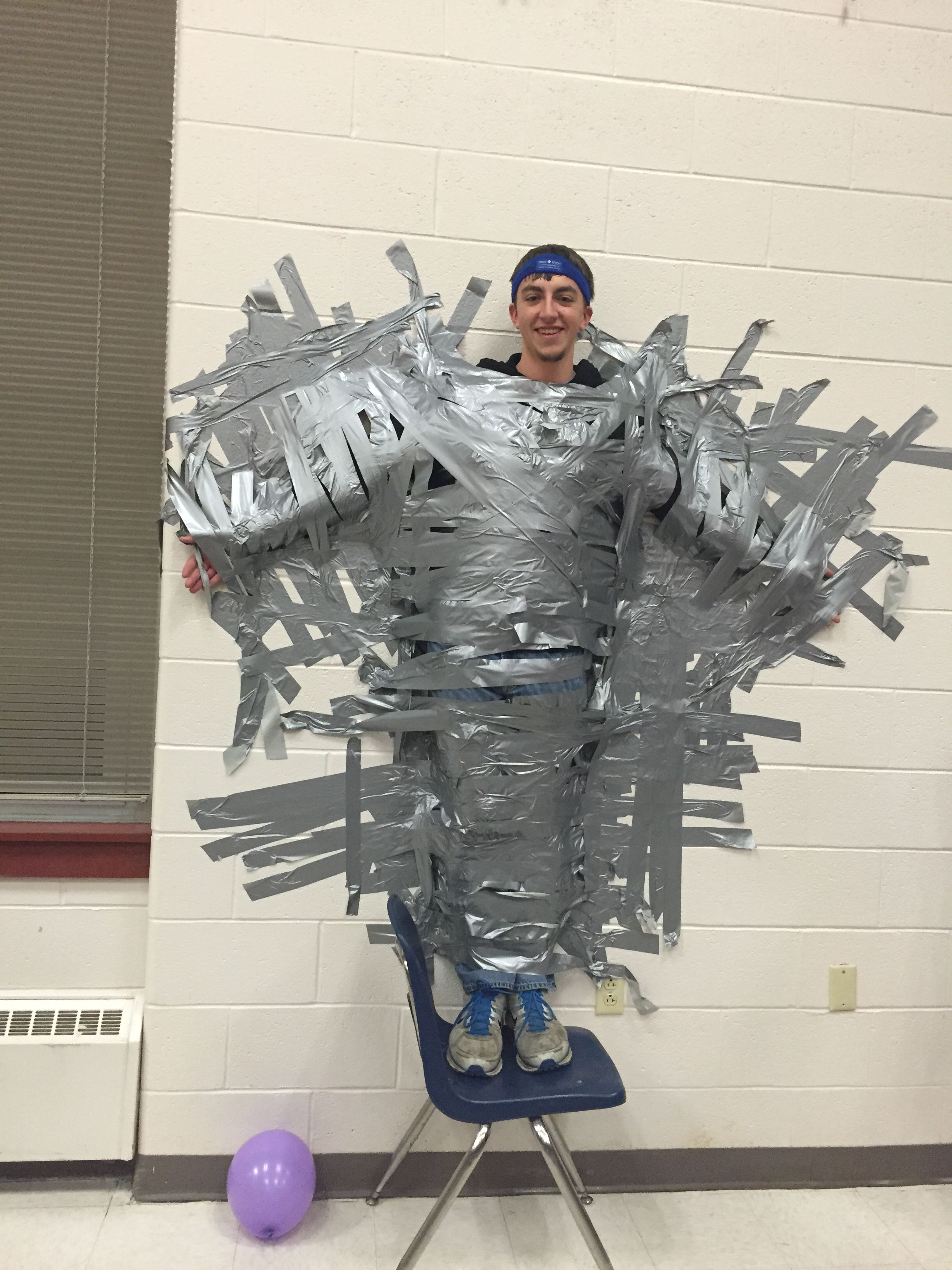 Solanco High School Duct Tapes Mini Thon Participants To The Wall