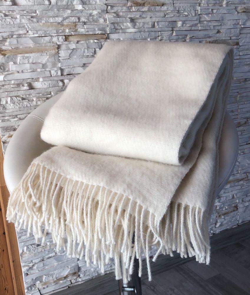 Wolldecke Wohndecke Plaid 130x200cm Decke Kuscheldecke 100 Neuseeland Wolle Wolldecke Bettuberwurf Kuscheldecke