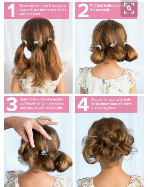 5 fast, easy, cute hairstyles for girls | Stylists | Pinterest ...