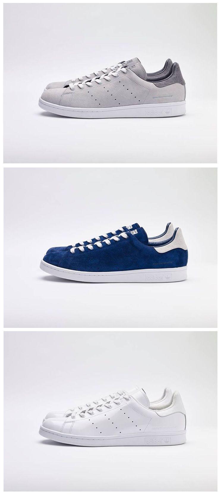 designer fashion 7edb5 79d15 White Mountaineering x adidas Originals Stan Smith