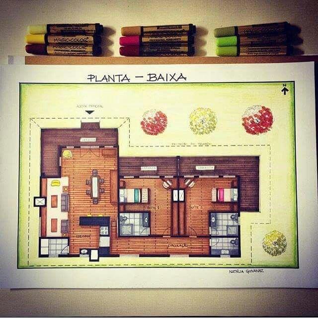 「planta Baixa Humanizada」のおすすめアイデア 25 件以上 Pinterest
