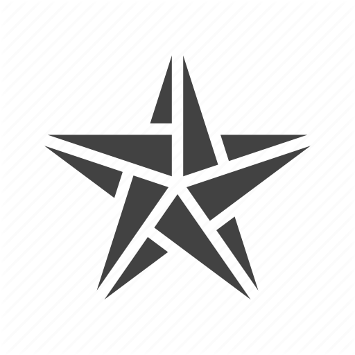 Craft Origami Paper Star Icon Download On Iconfinder Glyph Icon Origami Icon